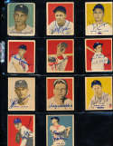 Gil Coan Senators #90 Rookie 1949 bowman Signed Card