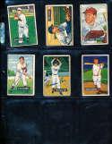 Preacher Roe Brooklyn Dodgers #118 1951 bowman Signed Card