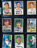 Lou Brissie Indians #155 1951 bowman Signed Card