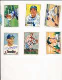Pete Castiglione Pirates #17 1951 bowman Signed Card