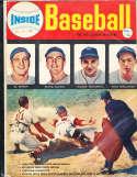 1952 Inside Baseball Magazine Dom Dimaggio, Al Rosen
