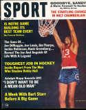 1967 March Wilt Chamberlain Sport Magazine mt