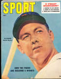 1957, July Al Kaline Sport Magazine vg