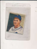 neil Berry Detroit Tigers #241 Signed 1950 Bowman card