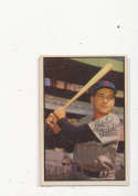 Bob Addis, chicago Cubs, #94 Signed 1953 Bowman baseball card ex