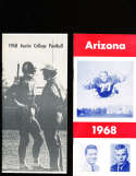 1968 Austin College Football Media Press Guide