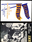 1967 University of Illinois Football Media Press Guide