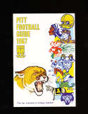 1967 Pittsbugh Pitt Football Media Press Guide