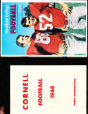 1968 Cornell Football Media Press Guide