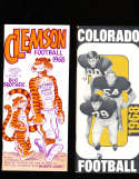 1968 colorado Football Media Press Guide