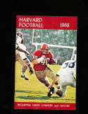 1968 Harvard Football Media Press Guide CFBmg0