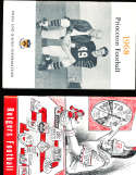 1968 Princeton Football Media Press Guide