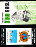 1968 Ohio University Football Media Press Guide