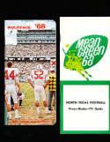 1968 North Carolina State Football Media Press Guide