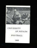 1968 University of Nevada Football Media Press Guide
