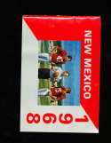 1968 New Mexico Football Media Press Guide
