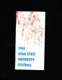 1968 Utah State Football Media Press Guide