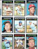 Moe Drabowsky Cardinals #685 Signed 1971 Topps Baseball Card