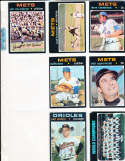 Earl Weaver Orioles #477 Signed 1971 Topps Baseball Card