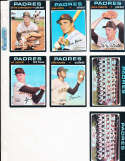 Ed Spiezio Padres #6 Signed 1971 Topps Baseball Card