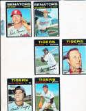 Aurelio Rodriquez Detroit Tigers #464 Signed 1971 Topps Baseball Card