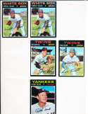 Ralph Houk Yankees #146 Signed 1971 Topps Baseball Card