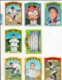 Moe Drabowsky Cardinals #627 Signed 1972 Topps Baseball Card
