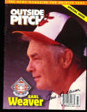 Earl Weaver Orioles signed Outside Pitch magazine