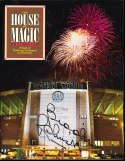 Brooks Robinson the house of magic orioles stadium yearbook signed