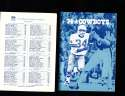 1974 Dallas Cowboys Press Media Guide em