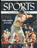 1955, June 27 Duke Snider Brooklyn Dodgers Sports Illustrated nm newsstand