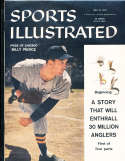 1957, May 13 Billy Pierce Chicago White Sox Sports Illustrated no label newsstand