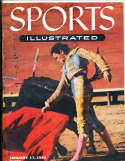 1955, January 17 bullfighting  Sports Illustrated no label