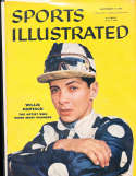1956, Willie Hartack Jockey Sports Illustrated no label