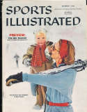 1958, December 1, pat saviers  Sports Illustrated no label