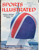 1958, America's cup racing Sports Illustrated no label