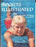 1958, July 21 Chris Von Saltza swimmer Sports Illustrated no label
