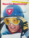 1967, March 27 Killy skiing olympic Sports Illustrated no label