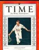 1933, September 4 Jack Crawford Time magazine Tennis