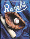 1984 Kansas city Royals baseball yearbook