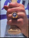1986 Kansas city Royals baseball yearbook