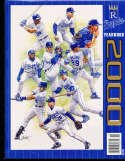 2000 Kansas city Royals baseball yearbook