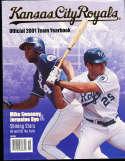 2001 Kansas city Royals baseball yearbook
