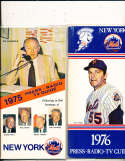 1976 New York Mets Press Guide em (only one listed)