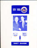 1967 New York Mets Press Guide em