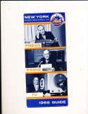 1966 New York Mets Press Guide em