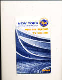 1964 New York Mets Press Guide em