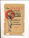 1905 Philadelphia Athletics Champions yearbook (gd)