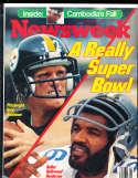 Terry Bradshaw Hollywood Henderson  1979, 1/22 Newsweek no label newsstand rwa4