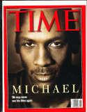 1998, 6/23 Michael Jordan Time magazine no label newsstand nm